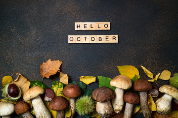 Mushrooms: Hello, October